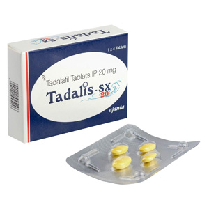 Tadalafil in USA: low prices for Tadalis SX 20 in USA