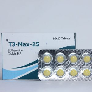 , in USA: low prices for T3-Max-25 in USA