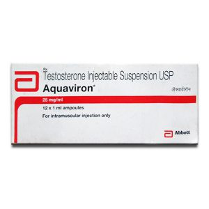 Testosterone suspension in USA: low prices for Aquaviron in USA